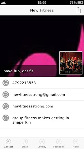 android New Fitness Screenshot 0