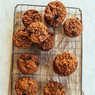 Olive Oil Carrot Muffins.
