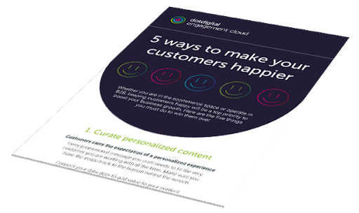 5 ways to make your Customers Happier