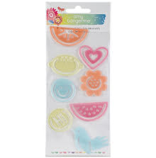 Amy Tangerine Shaped Paper Clips 8/Pkg - Sunshine & Good Times