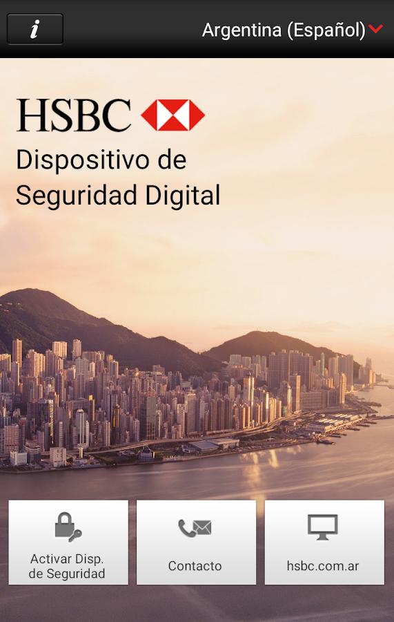 HSBC Mobile Banking - screenshot