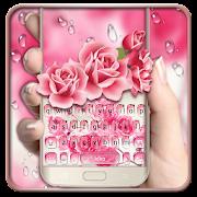 App Pink Water Rose Keyboard Theme APK for Windows Phone