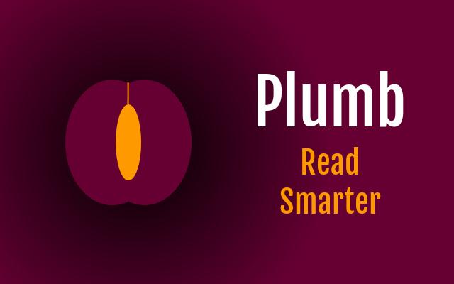 Plumb - Read Smarter