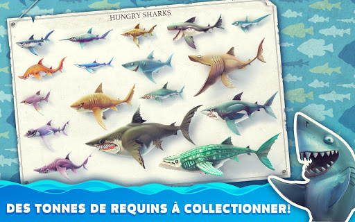 Hungry Shark World  captures d'u00e9cran 12