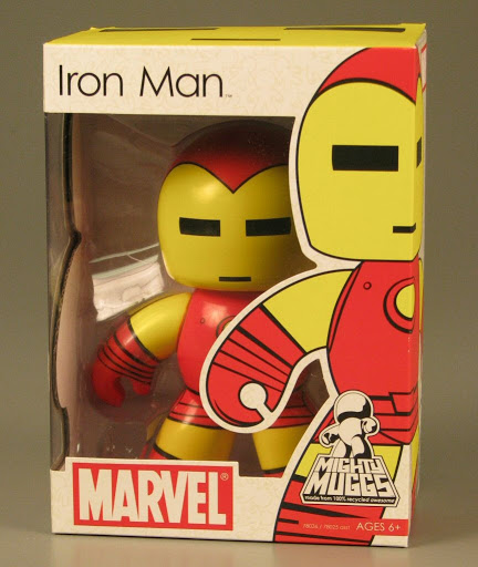 Figure:Mighty Muggs:Iron Man