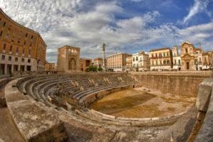 The Roman Amphitheatre in Lecce