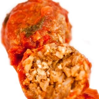 Vegan Meatball Supreme.