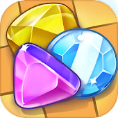 Gems World Match 3 Puzzle Game