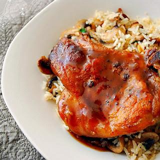 Honey & Spice Glazed Pork Chops
