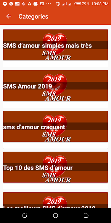 Sms Amour 2019 Android Aplicaciones Appagg