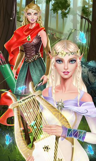 Elf Forest - Magic Dress Up