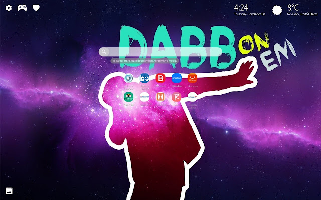 Dab Meme HD Wallpaper & 4K Background New Tab