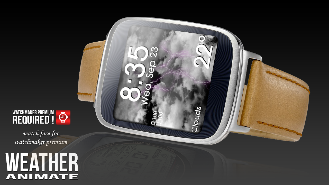 Weather Animate For Watchmaker Screenshot