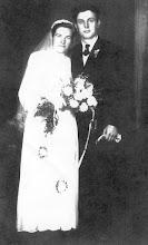 Photo: Domonkos Klára és Fehérváry Sándor, 1947