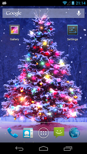 Christmas Live Wallpaper 1.5.4 screenshots 4