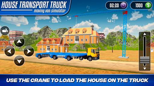 House Transport Truck Moving Van Simulator 1.0 screenshots 2
