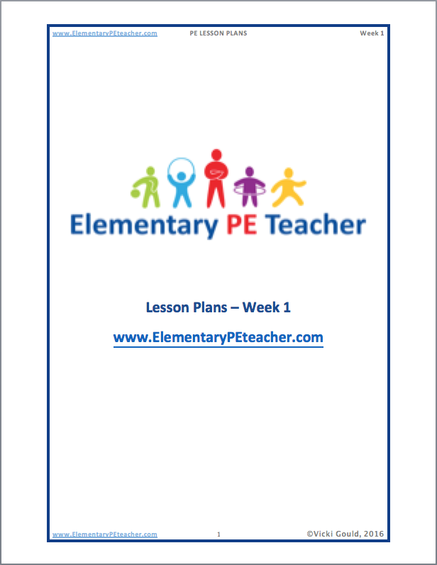 Physical Education Lesson Plans - Pe lesson plan template