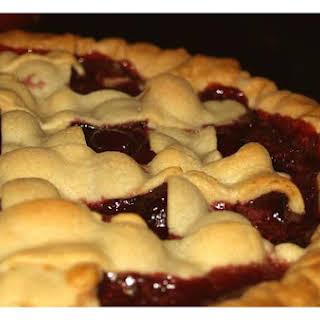 Fresh Cherry Pie.