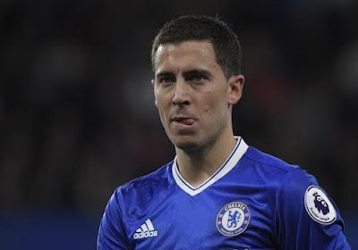 """Hazard 'maar' achtste bij Gouden Bal: """"Als Chelsea op niveau was, dan had ik wel eens willen zien waar hij zou eindigen"""""""