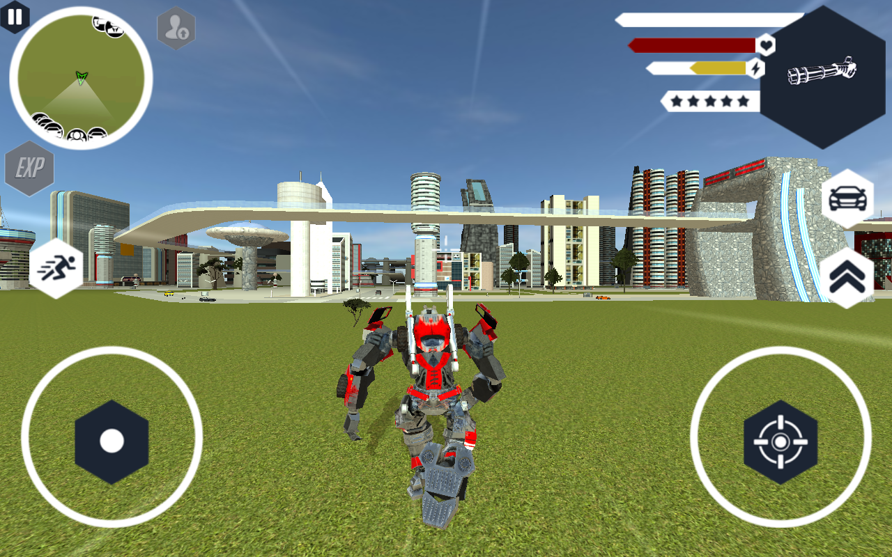 Robot Firetruck- screenshot