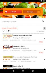 Thuisbezorgd.nl - Order food - screenshot thumbnail