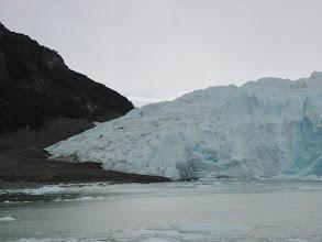 Photo: People trekking on the glacier