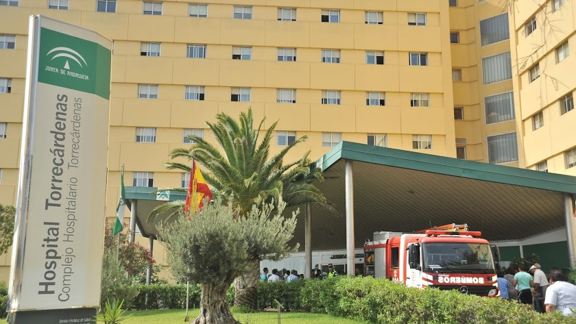 Imagen de archivo del Hospital Torrecárdenas.