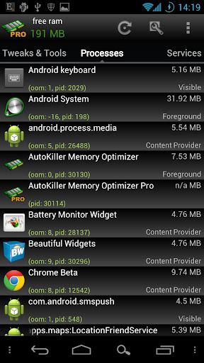 AutoKiller Memory Optimizer  screenshot 4