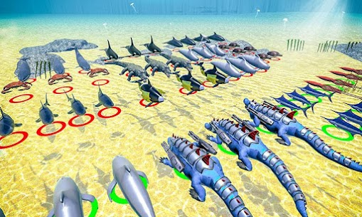 Sea Animal Kingdom: War Simulator 1.0.5 Latest MOD Updated 2