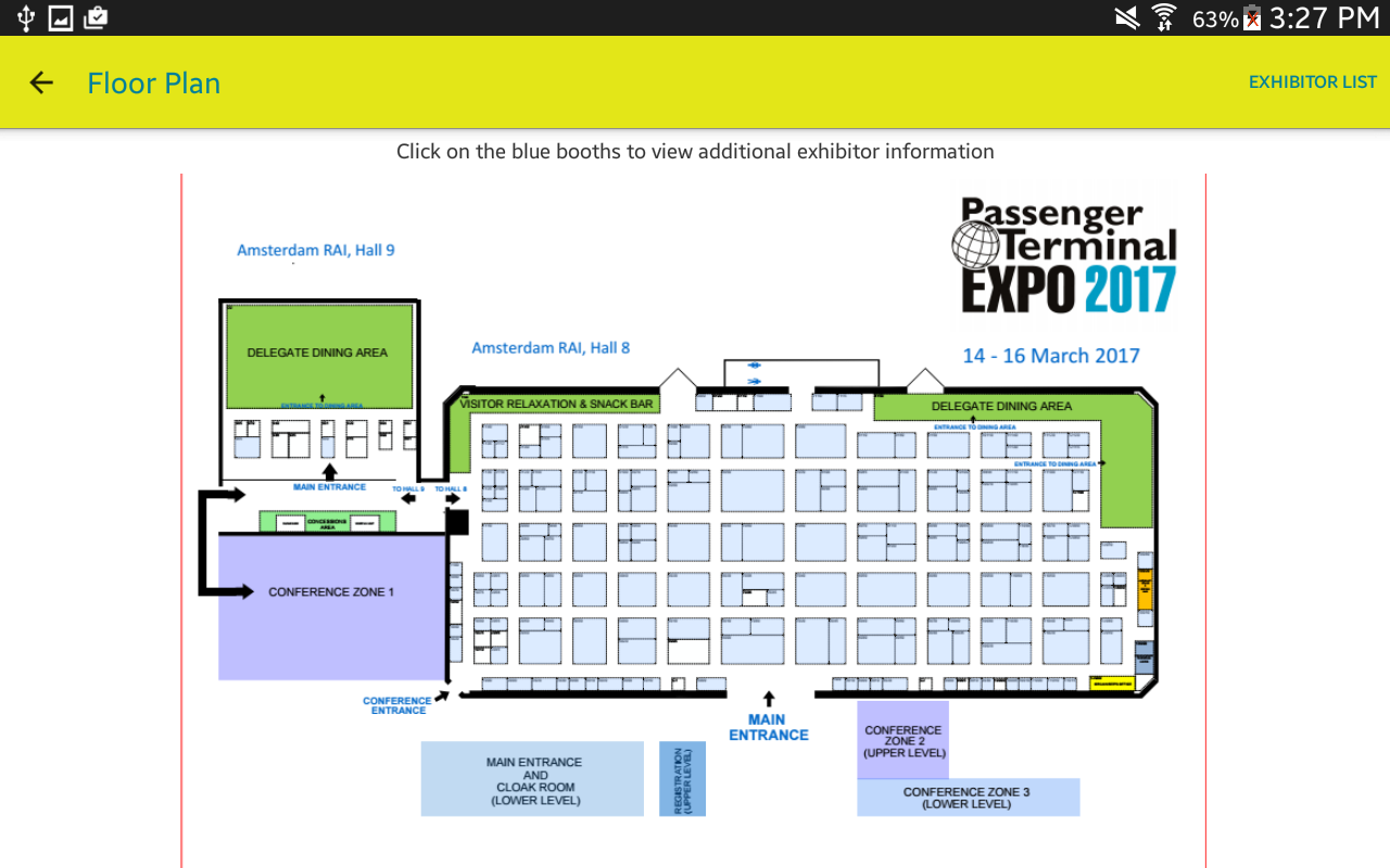 Passenger Terminal EXPO- screenshot