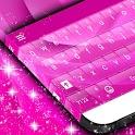 Pink Rose Keyboard Theme icon