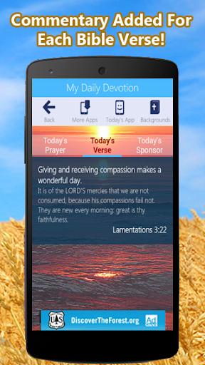 玩免費書籍APP|下載My Daily Devotion Bible App app不用錢|硬是要APP
