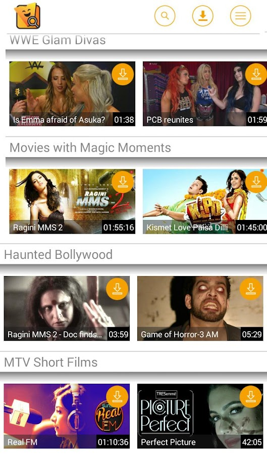 Vuclip Search: Video on Mobile- screenshot