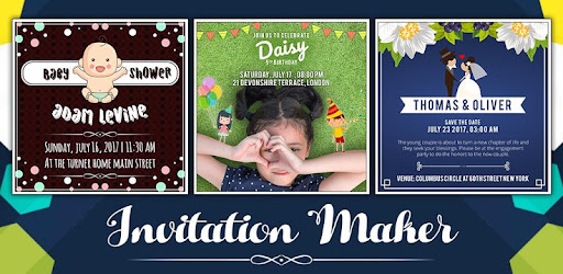 Invitation Maker app (apk) free download for Android/PC/Windows screenshot