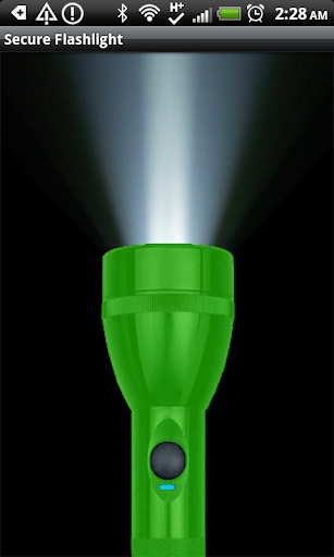 Secure Flashlight Green