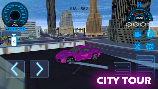 Luxury Car City - Open World Driving & Drift for PC-Windows 7,8,10 and Mac apk screenshot 1