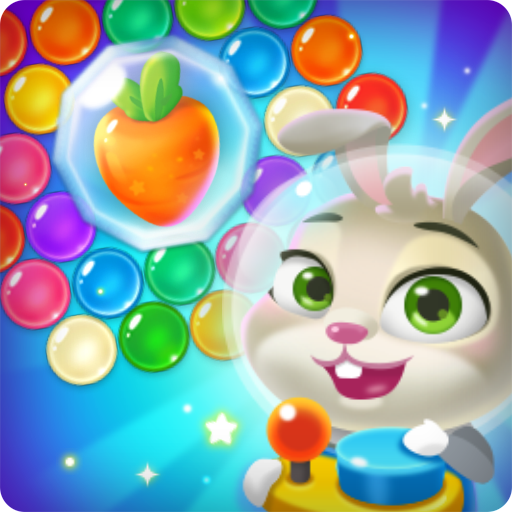 Space bunny : Bubble spinner