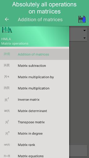 Matrix operations ss1