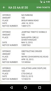 Traffic Bangalore: Check Fines - náhled