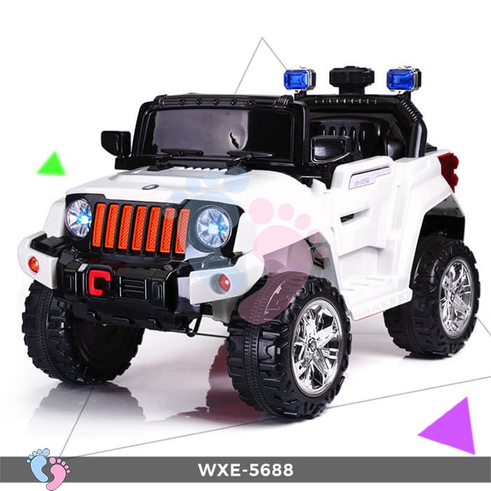 Ô tô điện cho bé WXE-5688 2 động cơ 4