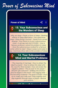 Power of Subconscious Mind
