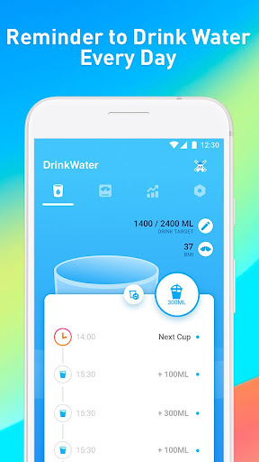 Drink Water Reminder – Water Diet Tracker & Alarm 3.6.9 screenshots 1