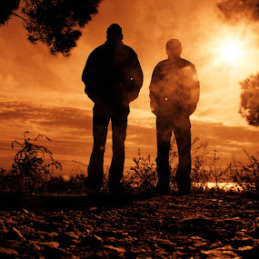 Together by Paschalis Angelopoulos - People Portraits of Men ( color, colors, landscape, portrait, object, filter forge )