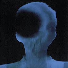 Photo: 13_Memoires photogramme 50x50cm sur papier bleu © Olivier Perrot 1996