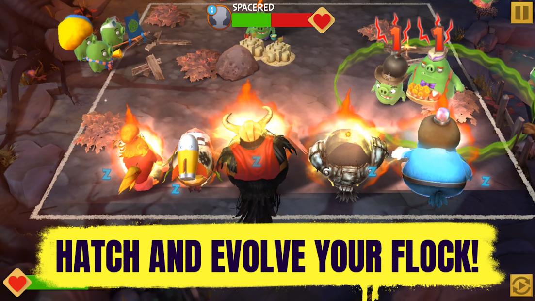 Angry Birds Evolution screenshot 1