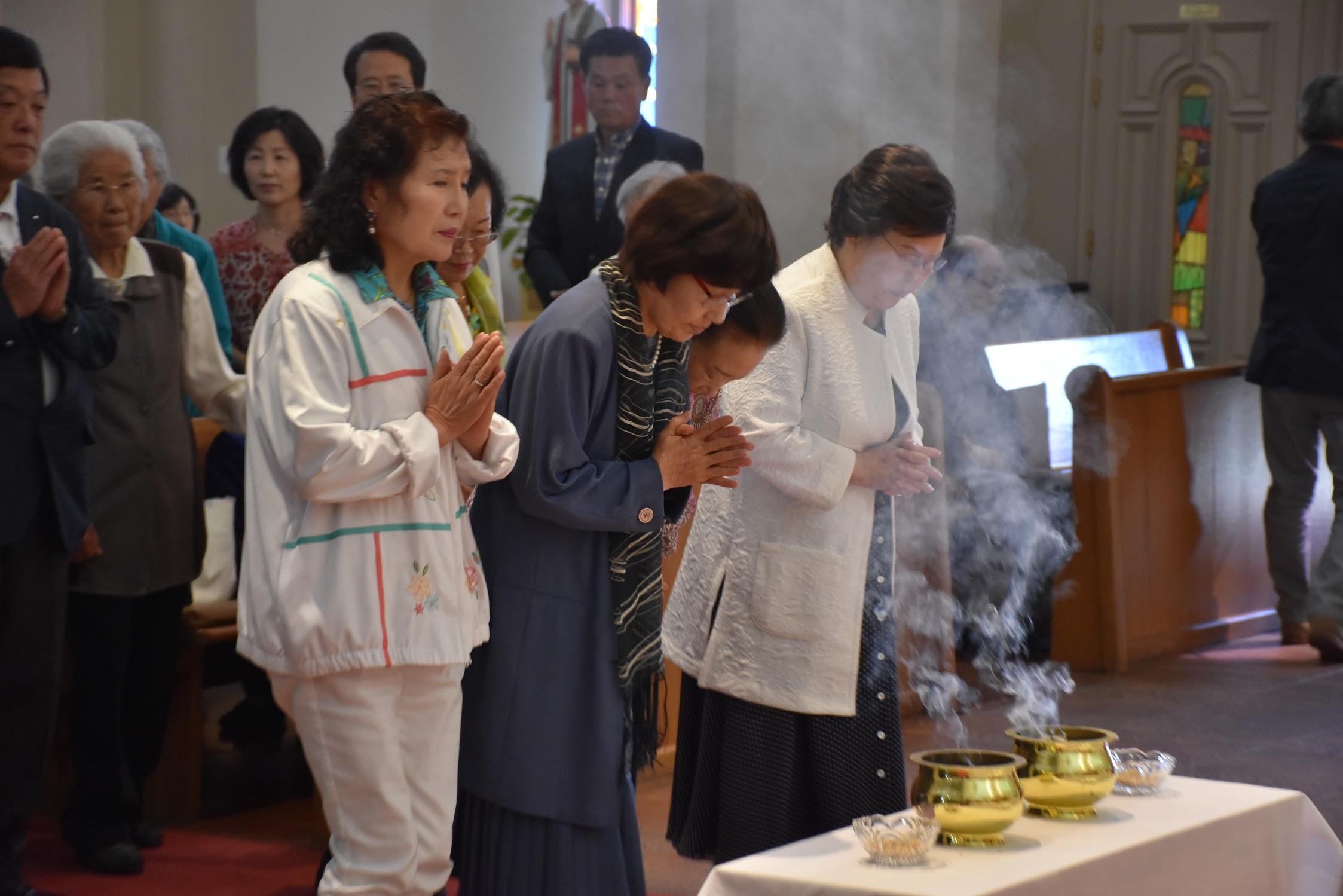 2018 추석 한가위 미사, 합동분향 (2018.9.23)