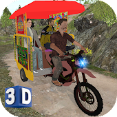 Off-Road Chingchi Rickshaw Sim