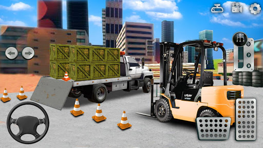 Download City Construction Simulator: Forklift Truck Game on