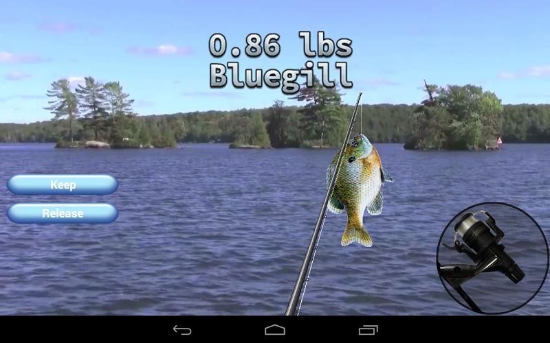 Скриншот i Fishing 3 Lite