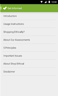 Shop Ethical!- screenshot thumbnail